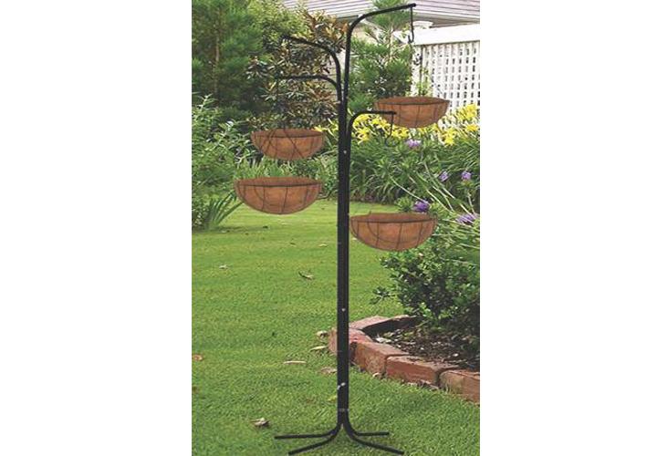 New Garden 4 Arm Cascade Hanging Tree Planter Basket Patio