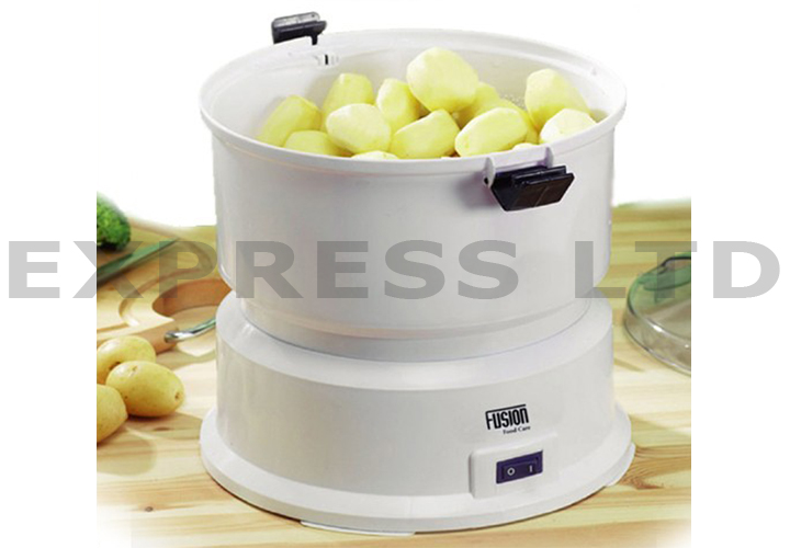 Electric Potato Slicer ~ New electric fusion automatic potato peeler home kitchen