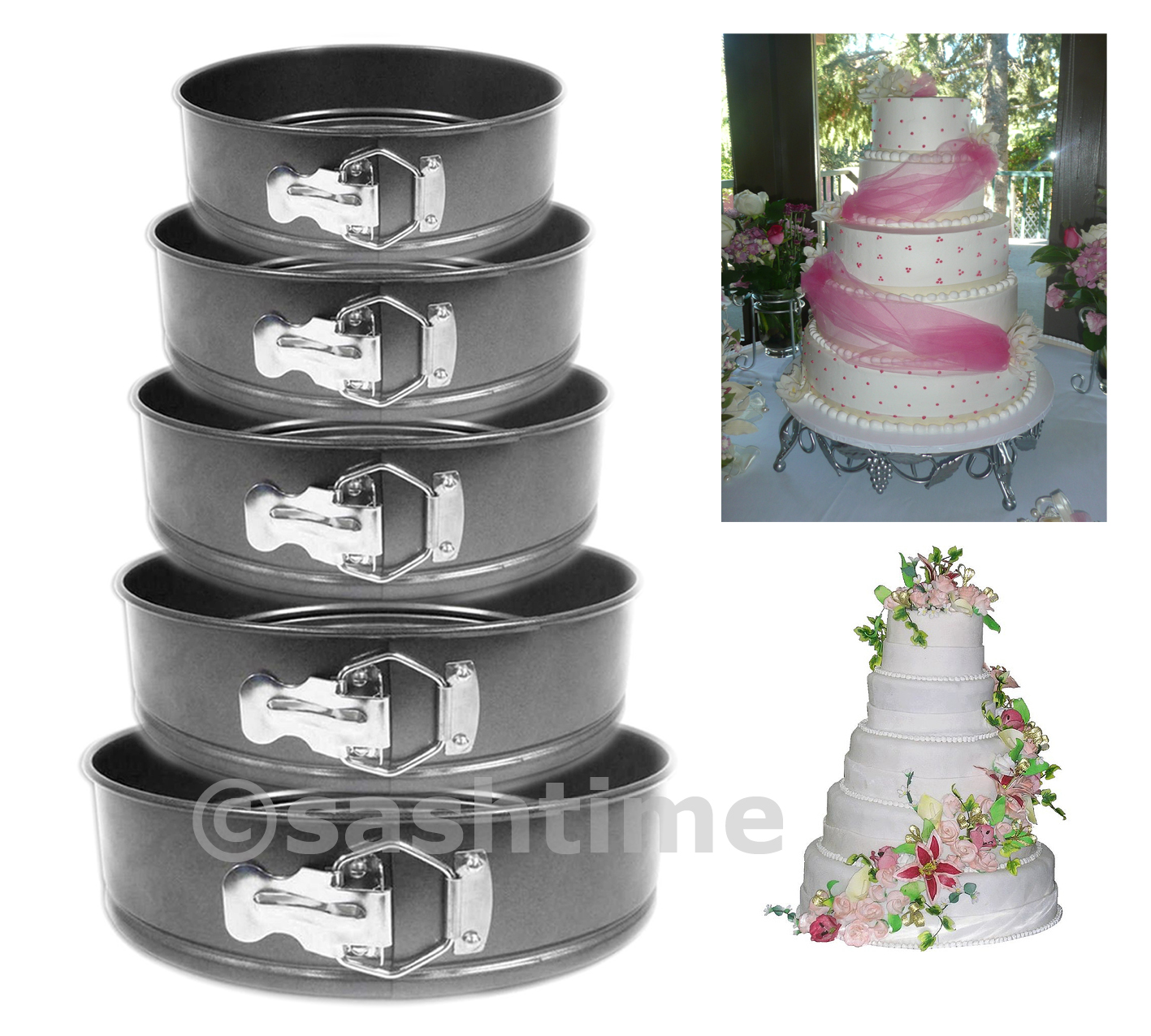 springform cake pan baking bake round tray tins wedding party ebay