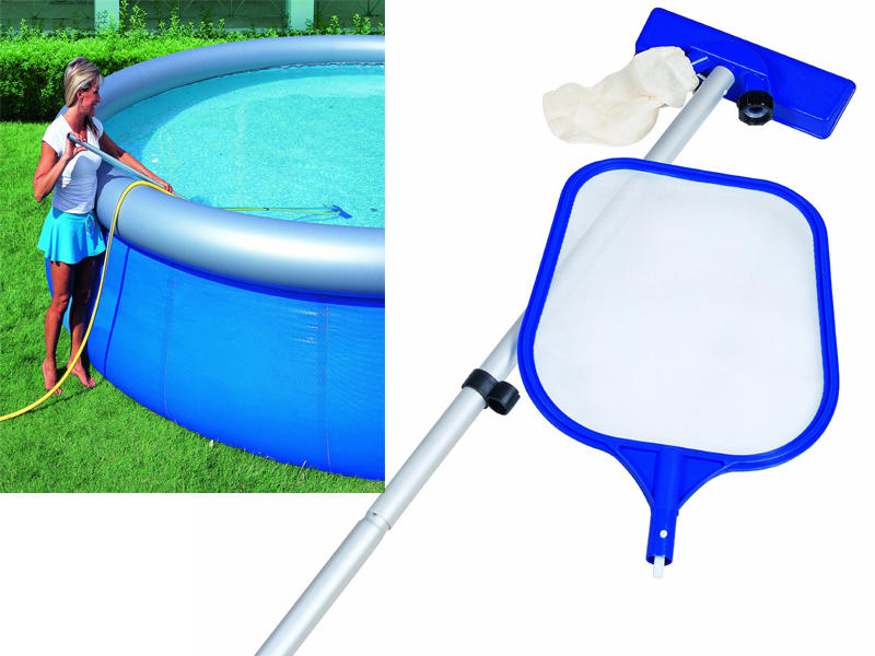 Swimming Pool Cleaning Net : Quot swimming pool spa maintenance cleaning kit net and