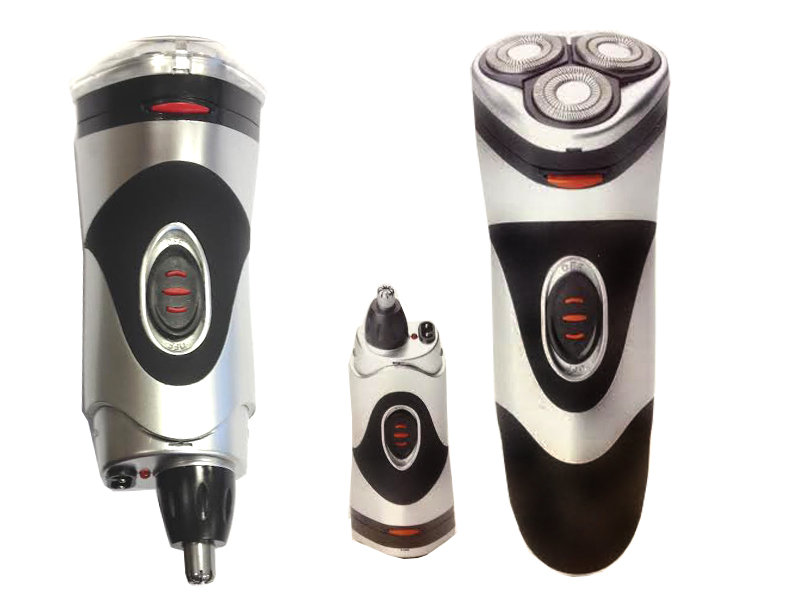 new 2 in 1 rechargeable 3 head mens grooming shaver beard. Black Bedroom Furniture Sets. Home Design Ideas
