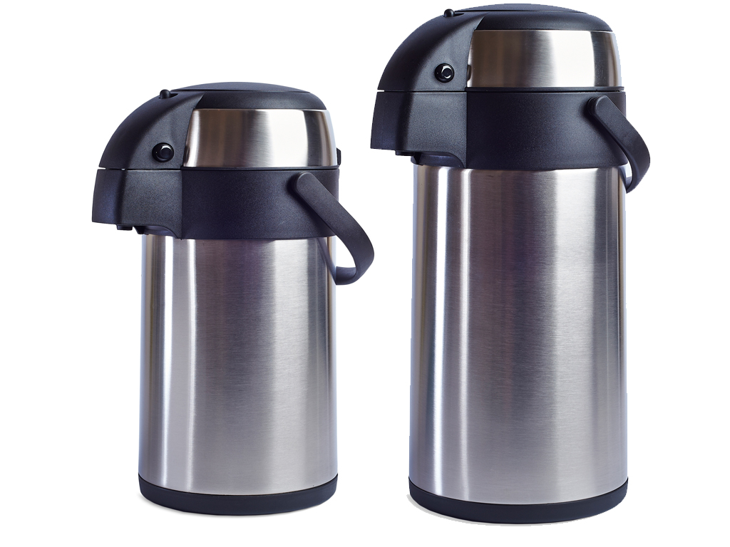 new 3l 5l stainless steel airpot hot tea coffee drinks vacuum flask thermos jug. Black Bedroom Furniture Sets. Home Design Ideas