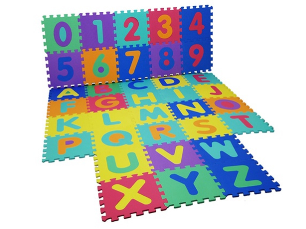 Large Size Foam Alphabet Children Soft Jigsaw Puzzle Play
