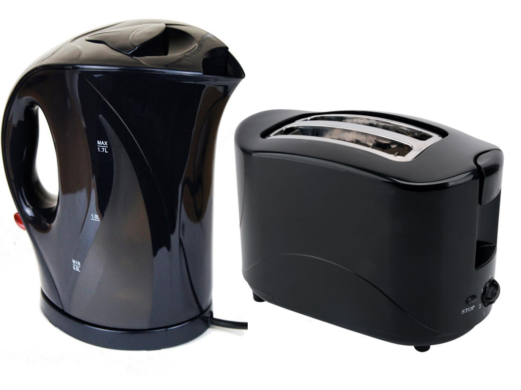 New electric cordless jug kettle and 2 slice toaster for Kitchen set kettle toaster