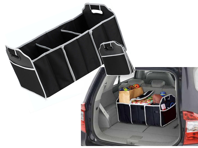 2in1 car boot organiser shopping tidy heavy duty. Black Bedroom Furniture Sets. Home Design Ideas