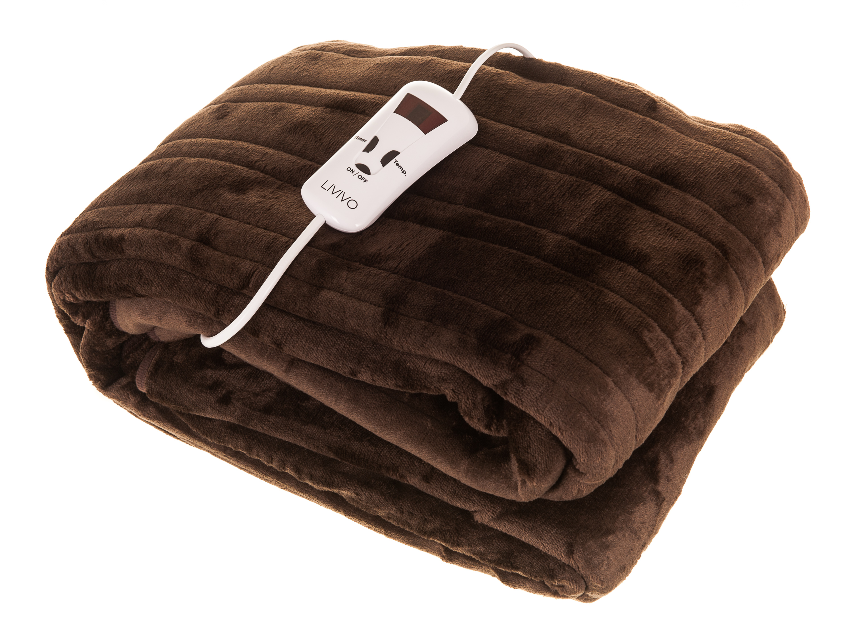 Electric Washable Heated Polyester Under Blanket Fleece