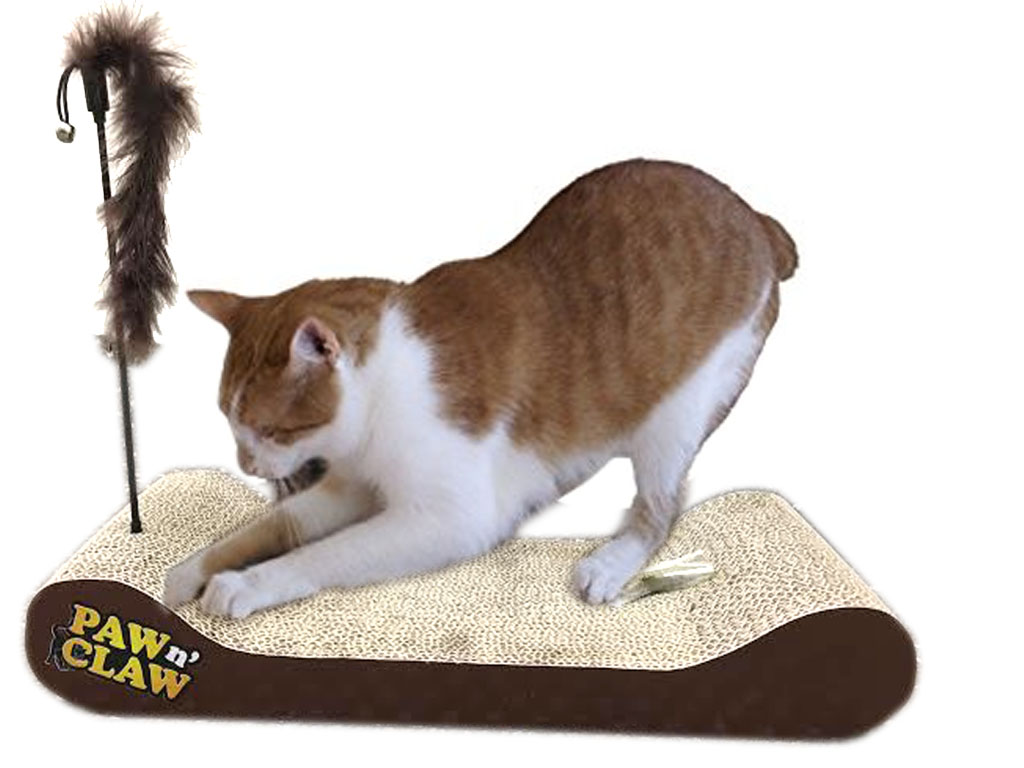 Scratch And Massage Bed For Cats