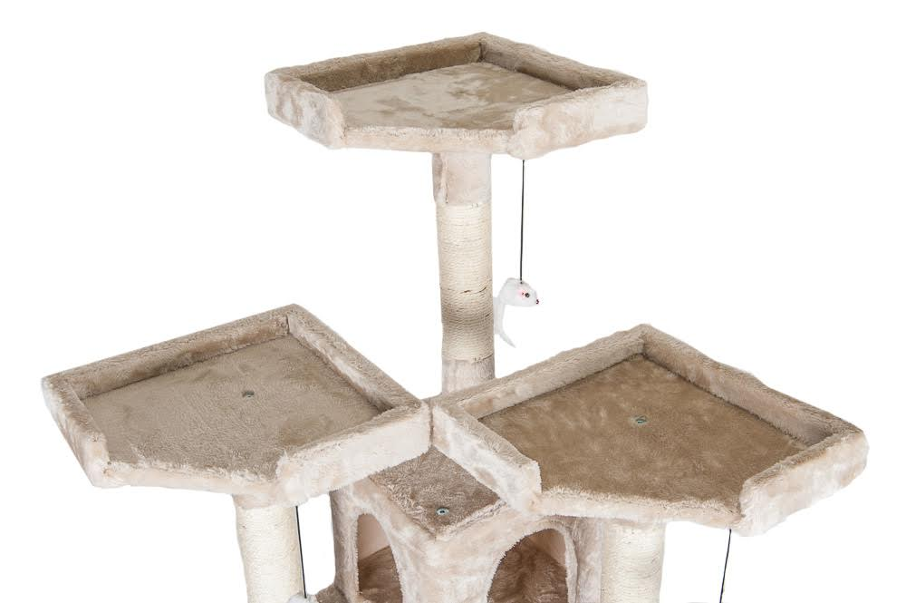 172cm large cat tree scratcher scratching kitten climb post sisal toy activity ebay. Black Bedroom Furniture Sets. Home Design Ideas