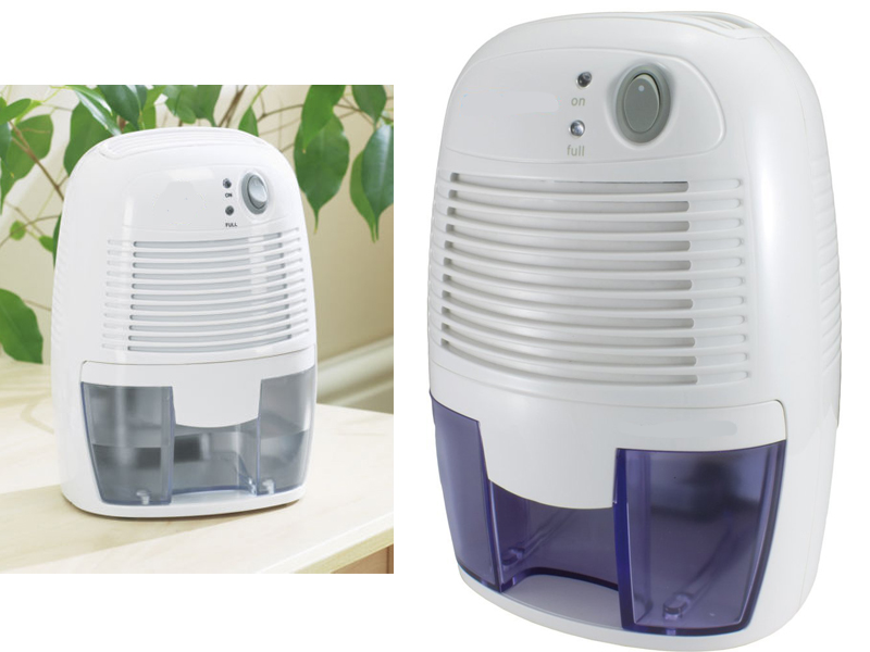 Mini dehumidifier portable 500ml air moisture damp home for Bathroom dehumidifier