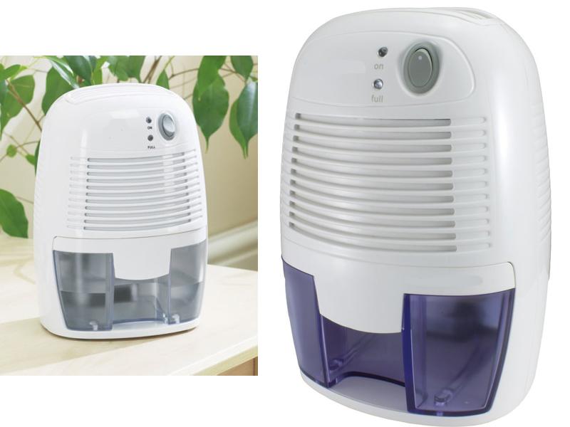 Mini dehumidifier portable 500ml air moisture damp home bedroom bathroom kitchen ebay for Small dehumidifier for bedroom