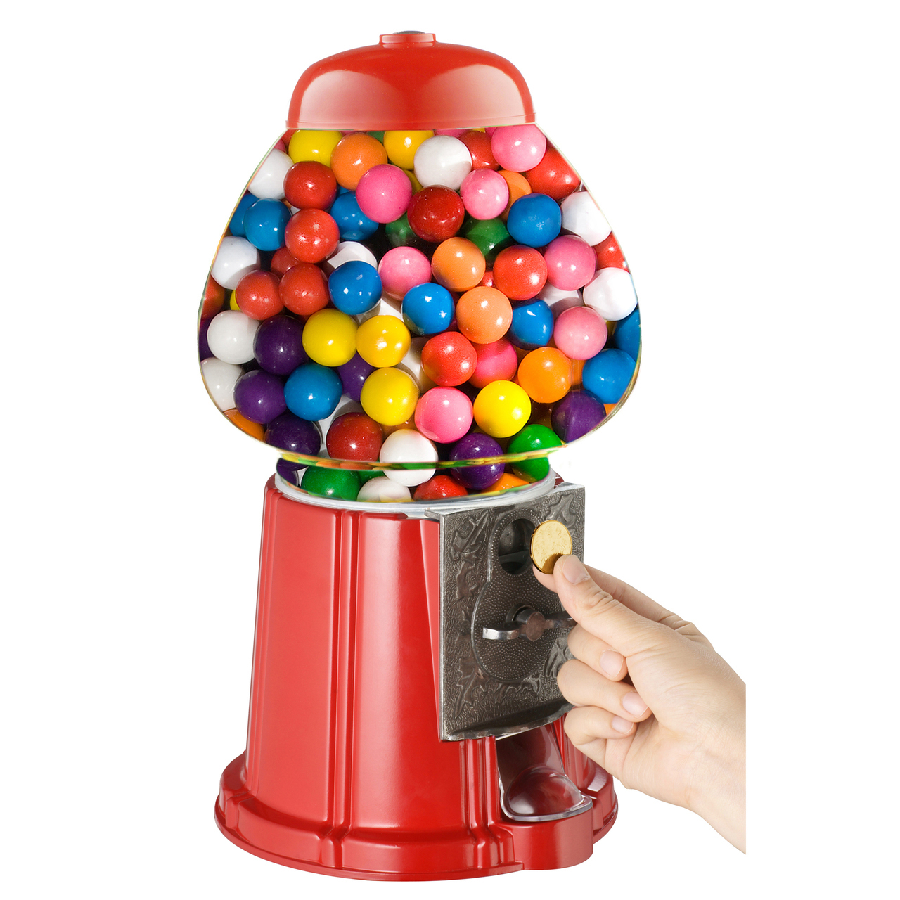 Gumball Dispenser Machine Toy 90g Bubble Gum Bag Included