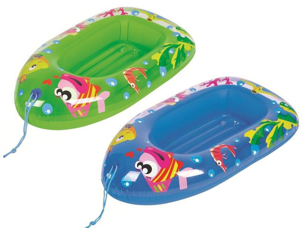 Fish Childs Inflatable Dinghy Float Boat Kids Children Swimming Pool Beach Toy Ebay