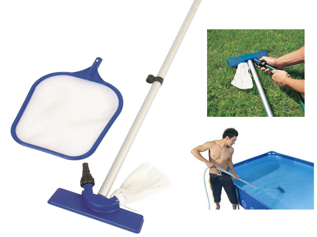 New 84 Swimming Pool Spa Maintenance Cleaning Kit Net And