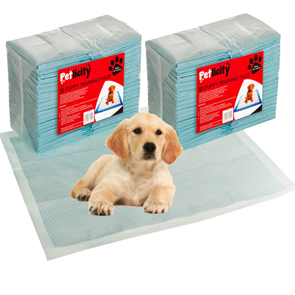 50 150 X Large Puppy Trainer Training Pads Toilet Pee Wee