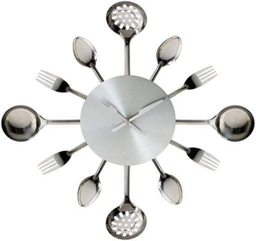 Uniquebella Metal Kitchen Cutlery Utensil Wall Clock Spoon: KITCHEN CUTLERY UTENSIL WALL CLOCK SPOON FORK LADLE CLOCK