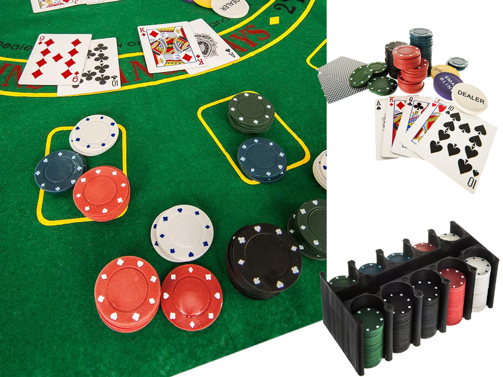 casino style texas holdem poker set instructions
