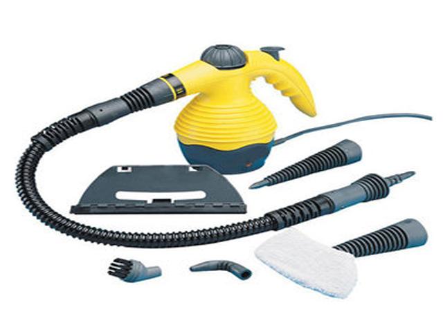 Power Steamers For Cleaning ~ Hand held quest power steam cleaner steamer watt ebay