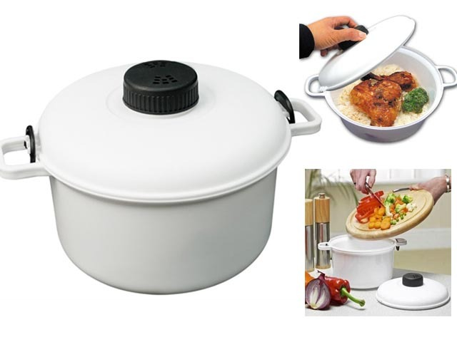 New microwave pressure cooker healthy vegetable steamer for Pressure cooker fish
