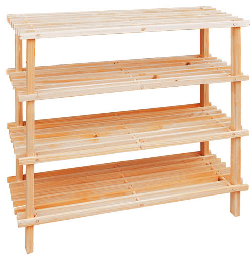 Permalink to wooden storage shelf plans