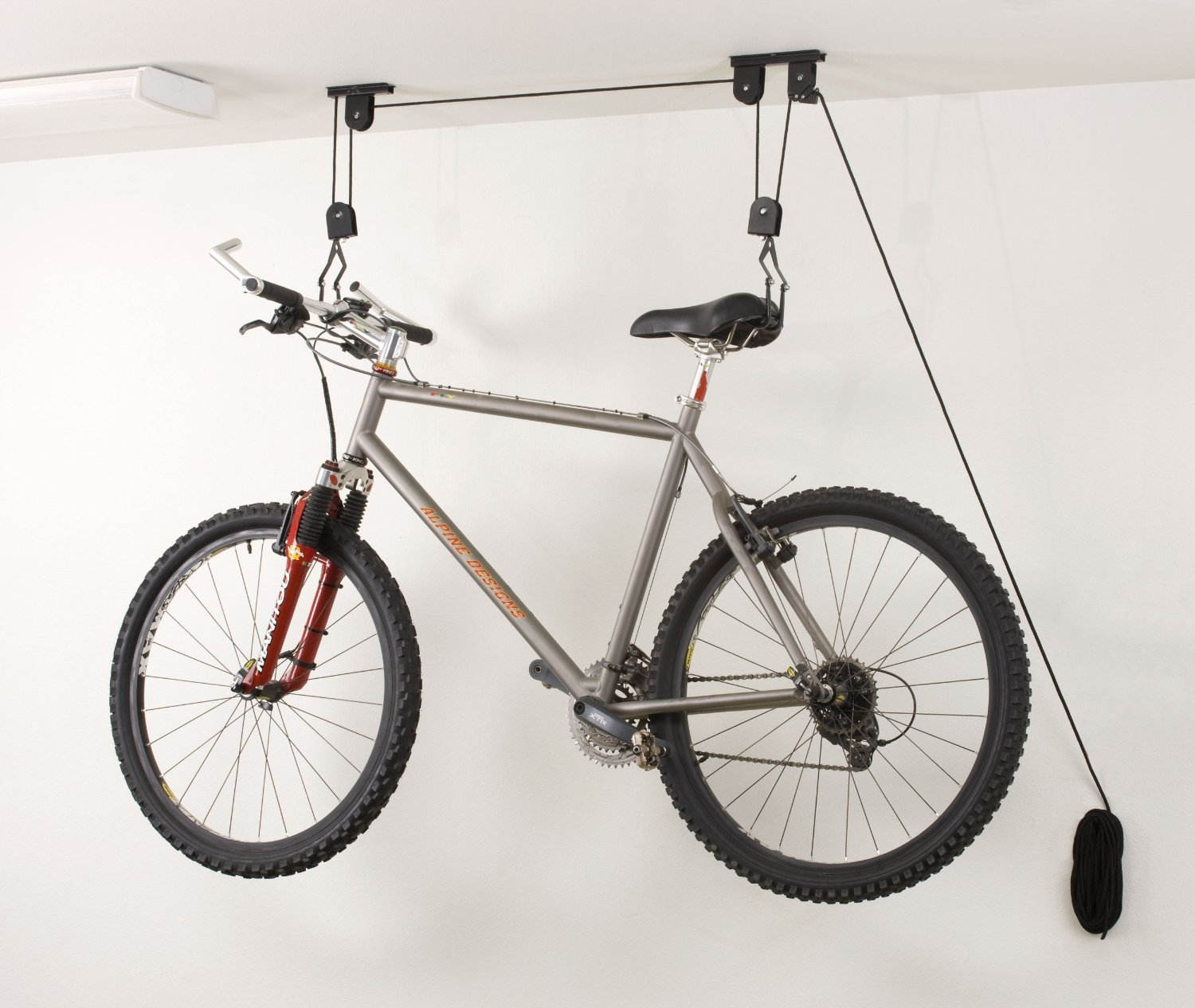Ceiling Bike Storage Lift Hang Cycle Bicycle Garage Shed