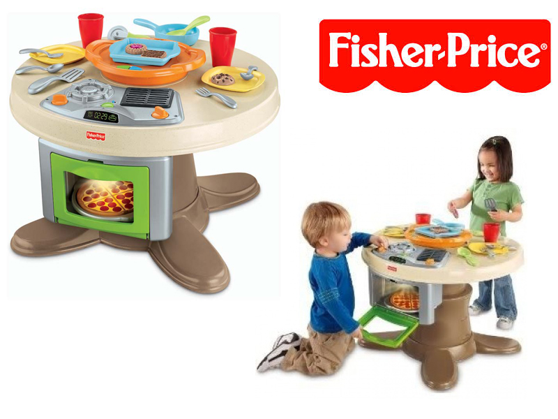 Fisher Price Serving Surprises Table And Kitchen Tray Kids Children Game Play Ebay
