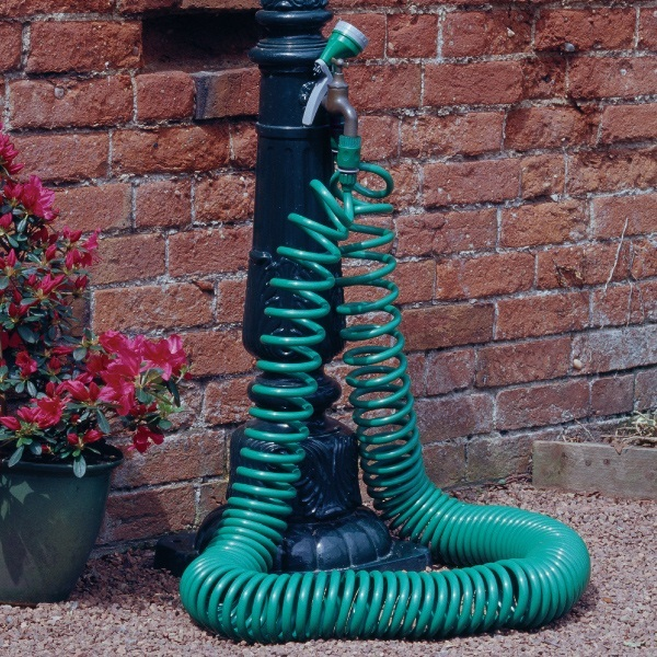 New 25ft Coil 15m Garden Water Hose Pipe 7 5m 25 Ft Spray