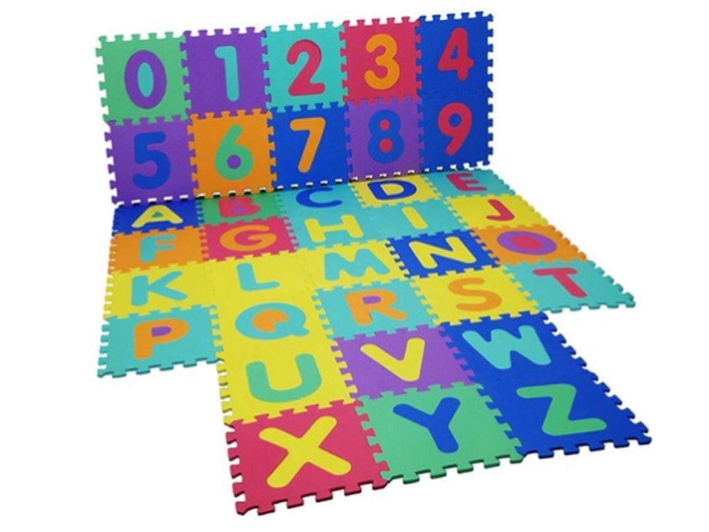 Kids Large Alphabet Foam Floor Mat Childrens Colourful