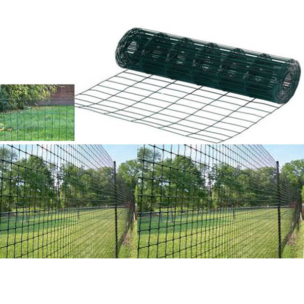 Garden Green PVC Coated Border Wire Mesh Fence 10M 20M 30M 40M X 0 9M Fencing