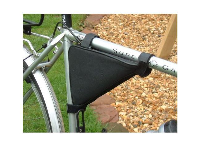 Bicycle Tool Bag : New triangle bicycle cycle mountain bike frame tool bag