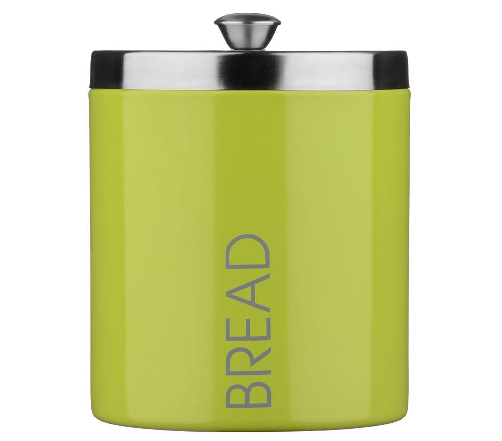 lime green liberty enamel tea coffee sugar bread biscuit