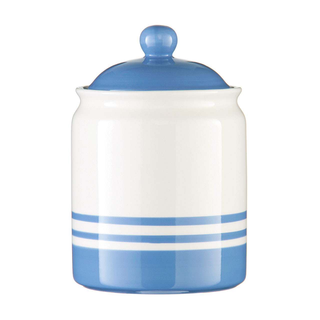 Kitchen Canisters Ceramic New Cornish Blue Stripe Ceramic Tea Coffee Sugar Storage