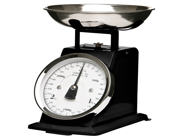3kg traditional vintage kitchen scale s steel bowl retro for Traditional kitchen scales