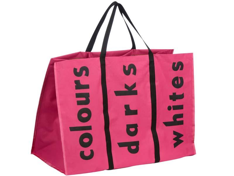 Laundry Bag Basket Bin Hamper Separator Folding