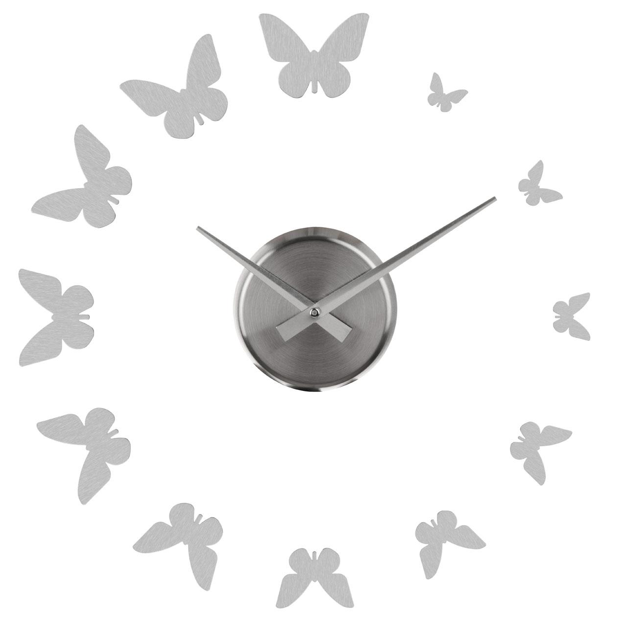 Brand New Diy Style Frameless Wall Clock Retro