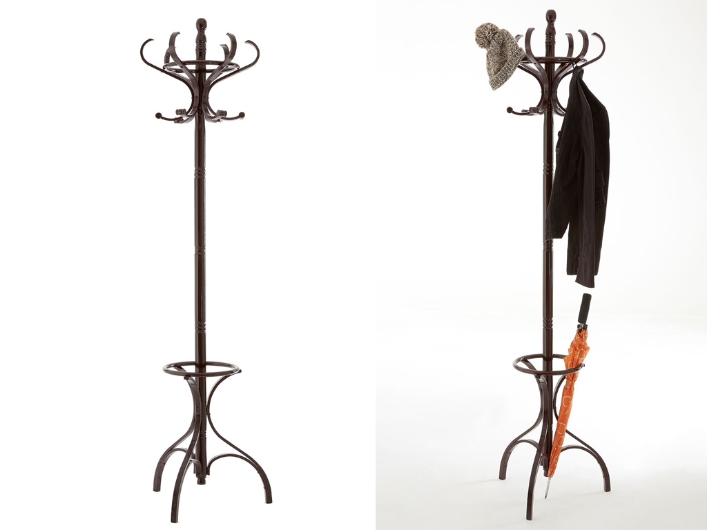 how to make a hat and coat stand