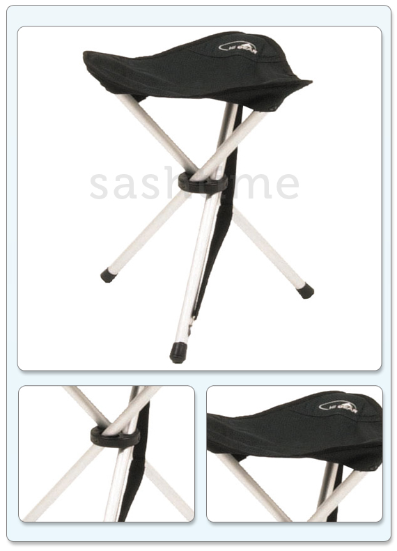 Folding Tripod Chair Stool Seat Camping Fishing Hiking