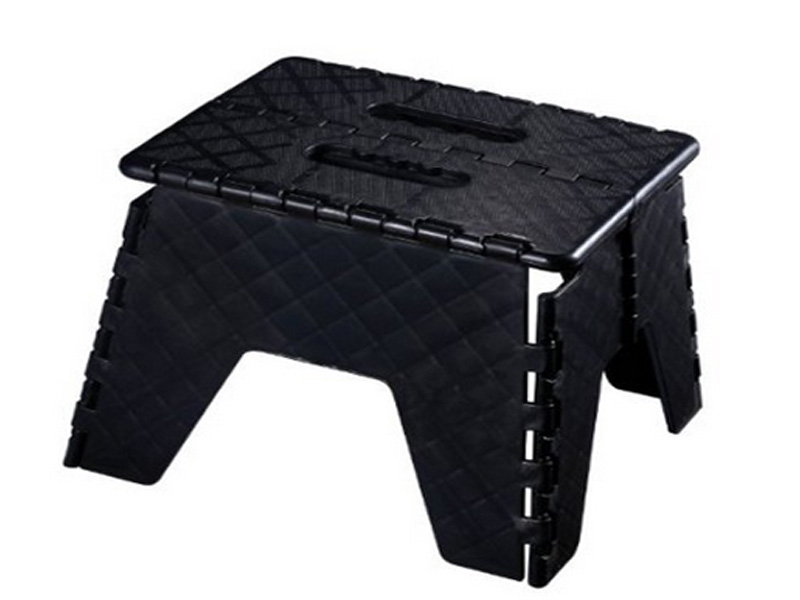 Plastic Folding Step Stool Fold Able Collapsible Heavy