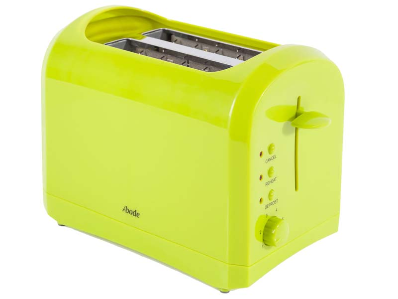 Lime green abode electric cordless 1 7l kettle 2 slice for Kitchen set kettle toaster