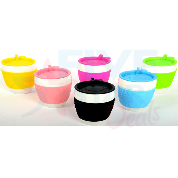 Ceramic Cup With Lid Ceramic Eco Cup Travel Mug