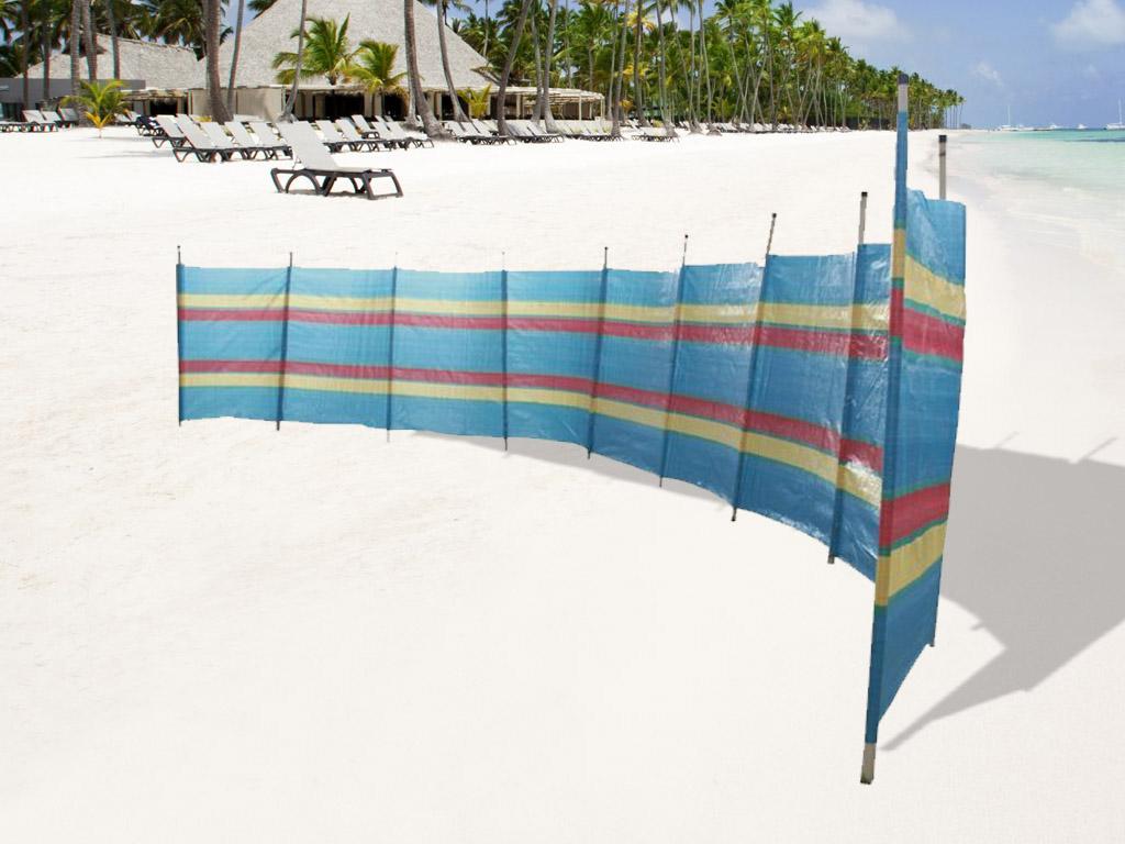 Pole Windbreaker Holiday//Camping//Screen Beach Festival Sun Wind Shelter 4,5,6