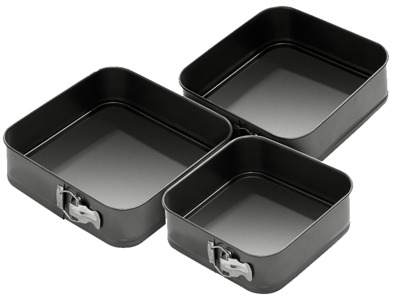 square wedding cake pans new 3pc non stick springform cake pan baking bake 20389
