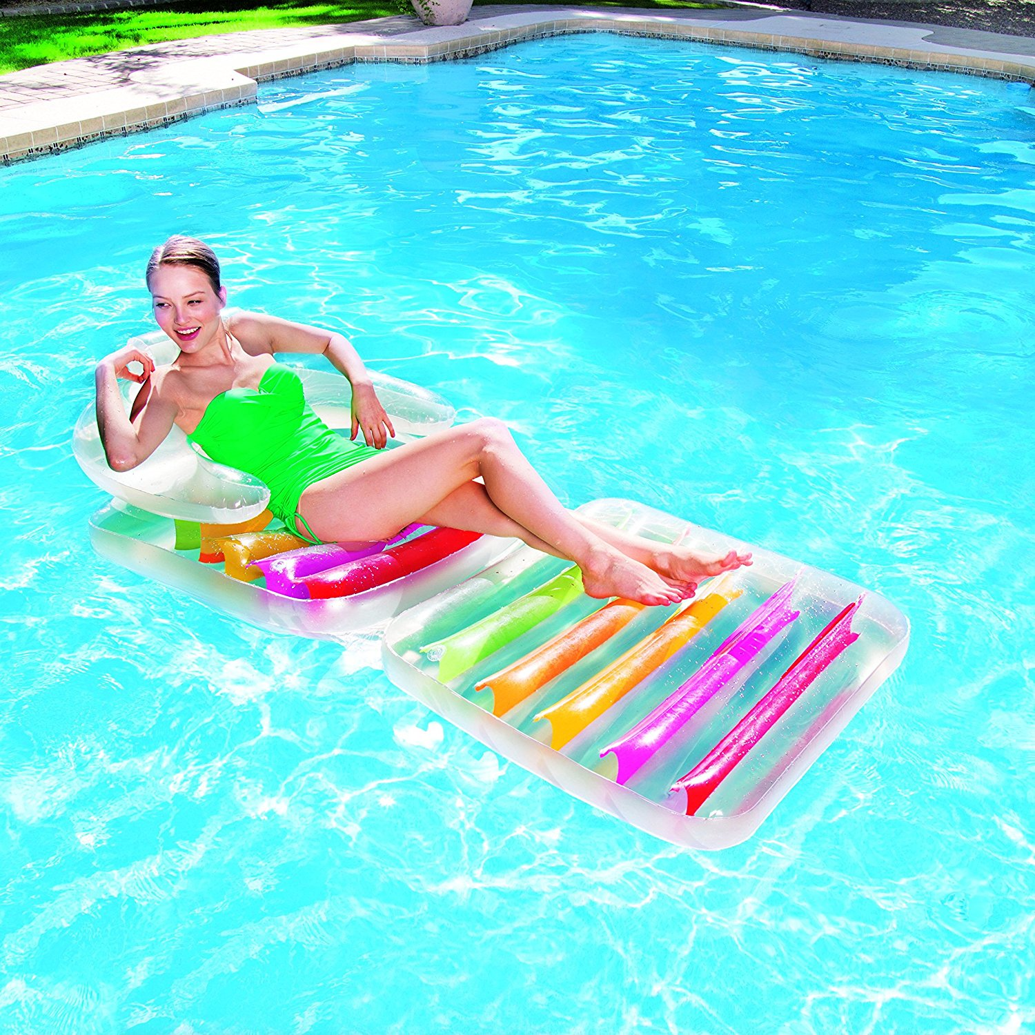 inflatable pool furniture. BESTWAY INFLATABLE LILO SWIMMING POOL AIR LOUNGE DESIGNER FASHION CHAIR LOUNGER Inflatable Pool Furniture E