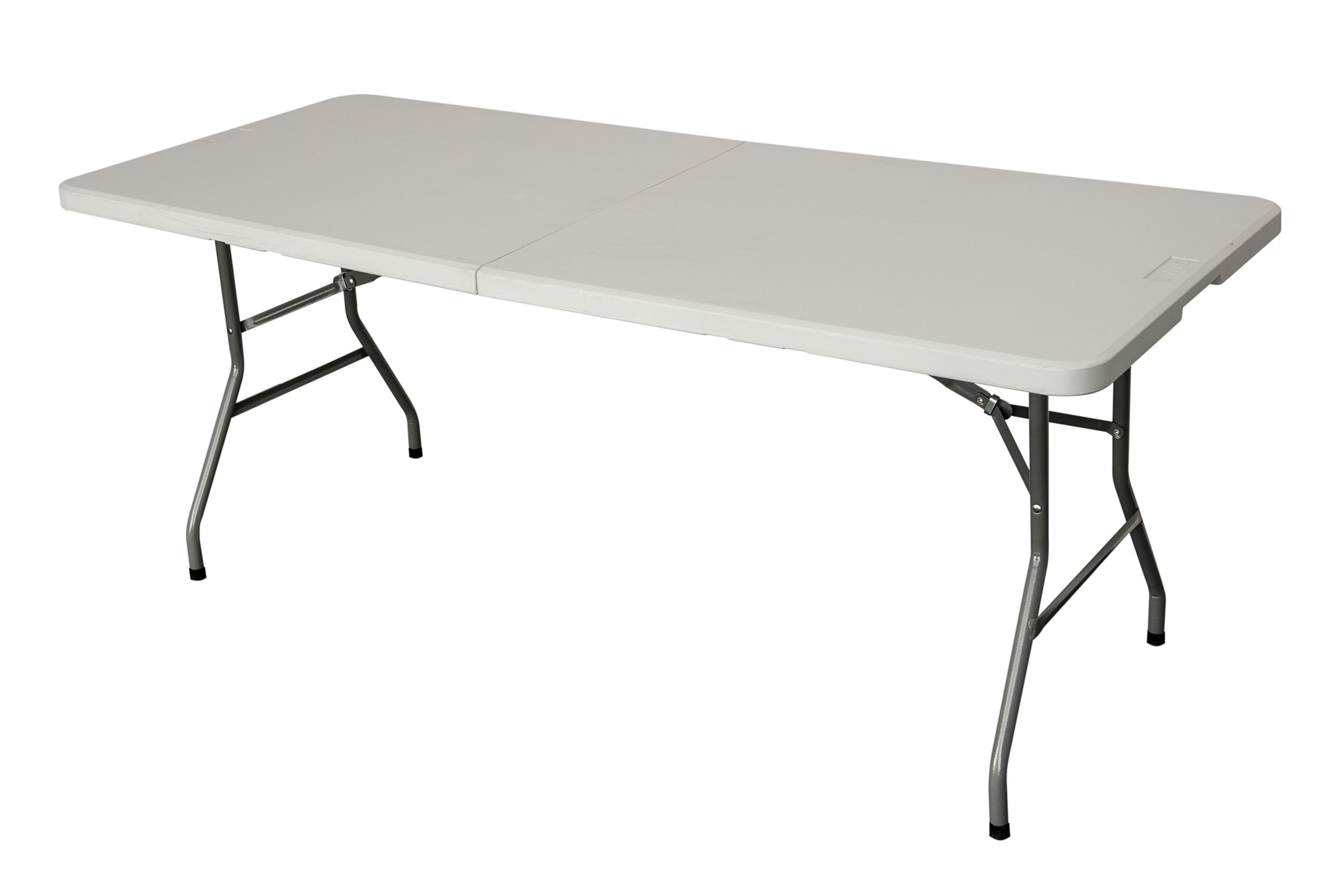 New heavy duty folding table 6 ft camping picnic banquet for Table 6 feet