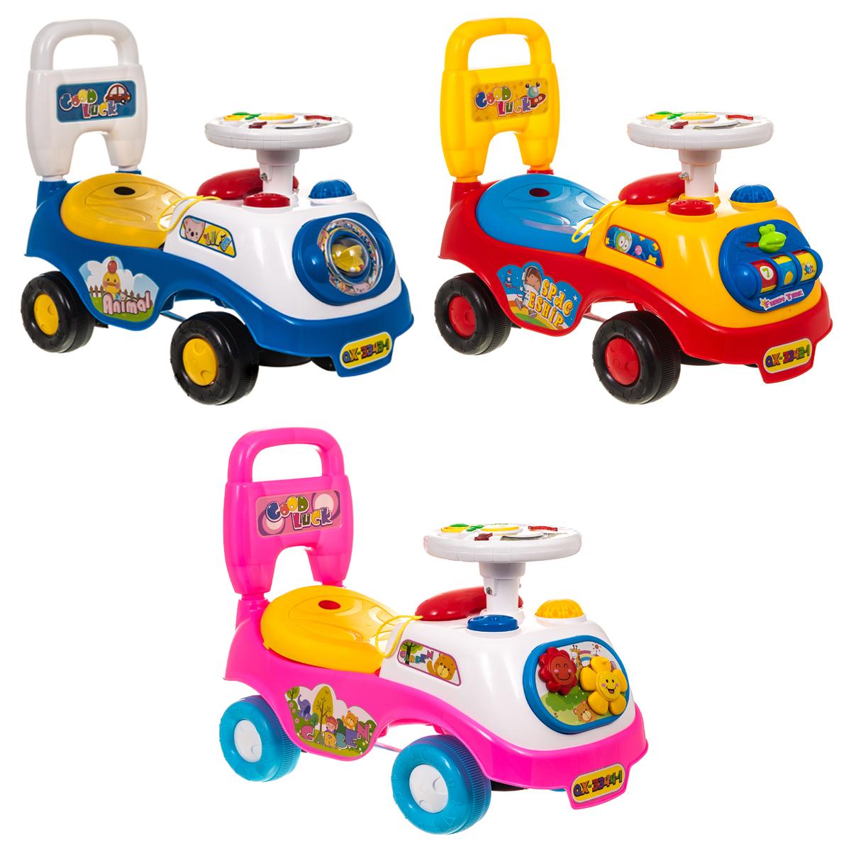 Ride-on Baby Walker Children for Early Development Bear Car Kids Xmas Toy