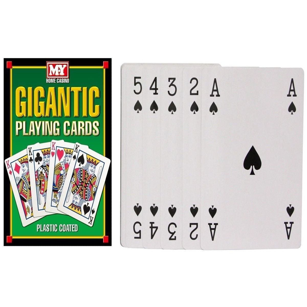 MY Games Giant A4 Playing Cards,NEW