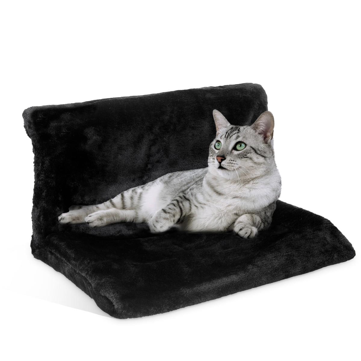 Cat Dog Radiator Bed Warm Faux Fur Beds Basket Cradle