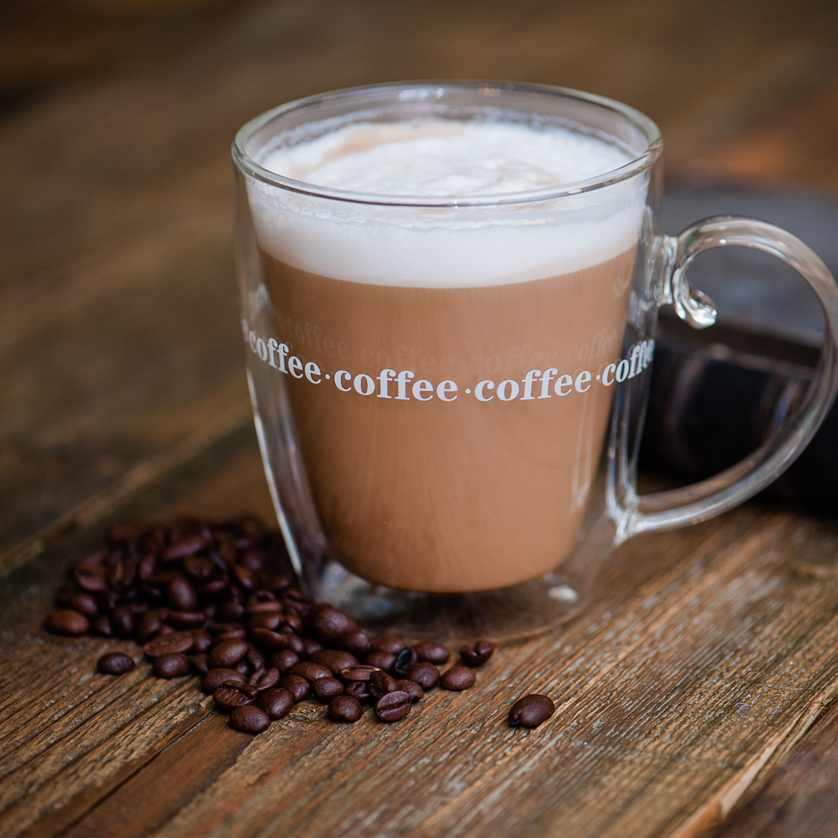 Details Xmas Insulated Thermo Handle About Layer Double 500ml Wall Gift With Mug Large Coffee vN8PymOwn0