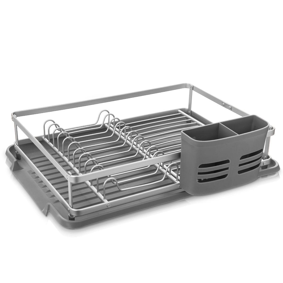 UK STOCK Dish Drainer Durable 4 Colors Plastic Drip Tray Drain Board Pro Top