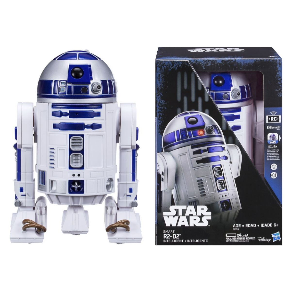 Blutooth STAR WARS HASBRO R2-D2 INTERACTIVE ASTROMECH DROID ROBOT