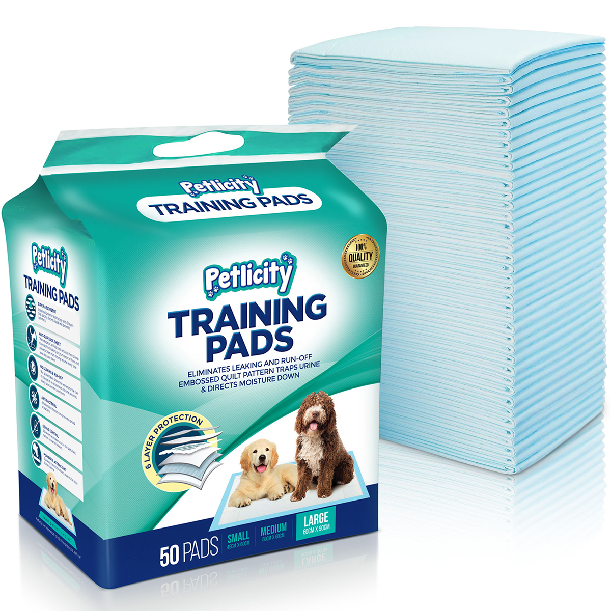 50 150 Xxx Large Puppy Trainer Training Pads Toilet Pee